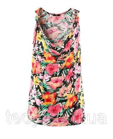 Топ от ТМ H&M в цветах