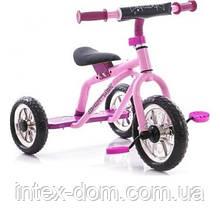 Триколісний велосипед Profi Trike M 0688-2C Малиновий