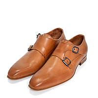 Туфли монки мужские коричневые Zign, 41