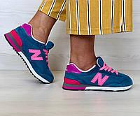 Кроссовки женские в стиле New Balance 515 код товара 4S-1047 материал -  замша 2242be656a7f5