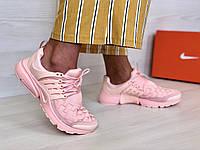 Кроссовки женские в стиле Nike Air Presto Woven код товара 4S-1105. Пудровые