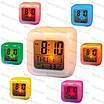 Настольные Часы  с термометром (меняют цвет), фото 2