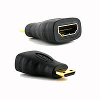 Переходник HDMI (мама, type-A) - mini HDMI (папа, type-C)    С помощью данного переходника адаптера Вы сможете