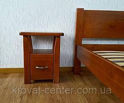 """Прикроватная тумбочка с ящиком """"Сакура мини"""" из натурального дерева, фото 3"""