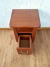 """Прикроватная тумбочка с ящиком """"Сакура мини"""" из натурального дерева, фото 2"""