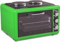 Електропіч SATURN ST-EC1072 Green, фото 1