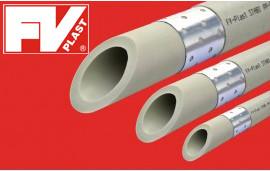 Трубы ППР FV PLAST STABI ПН 20 (с алюминиевой вставкой)