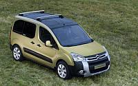 Боковое стекло правая сторона Peugeot Partner (2008-), фото 1