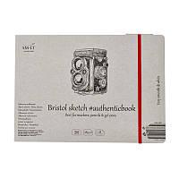 Альбом SMILTAINIS для эскизов Белый цвет Гладкая фактура AUTHENTIC Bristol А5 185/м2 18 листов 5EB-18ST