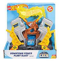 Игровой набор Hot Wheels Взрыв на Электростанции Hot Wheels City Downtown Power Plant Blastplay Set
