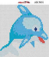 Алмазная вышивка АВ 5031 Дельфин