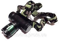 Фонарик налобный Police BL-6951 Ультрафиолет, фото 1