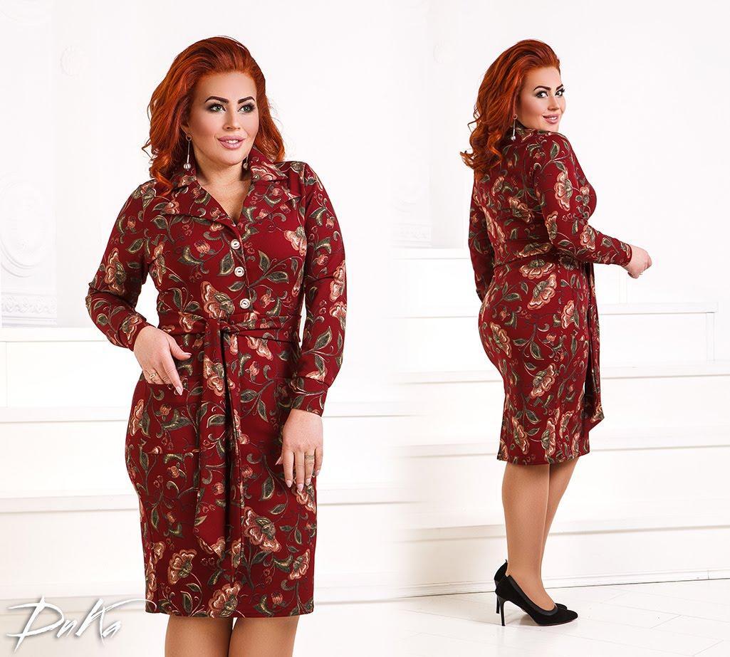 Платье женское 0232дг батал