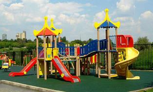 Детские горки и площадки