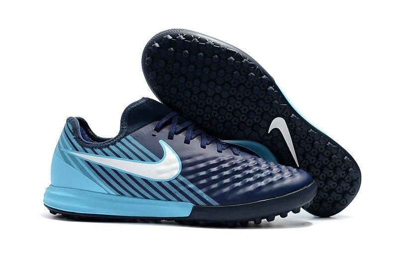 Бутсы сороконожки Nike MagistaX Finale II TF blue/blue
