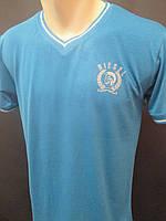 Мужские футболки с воротником на мыс., фото 1