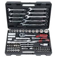 """Набор инструмента Classic (82 единицы) 1/4"""", 1/2""""  911.0682 KS Tools Германия"""