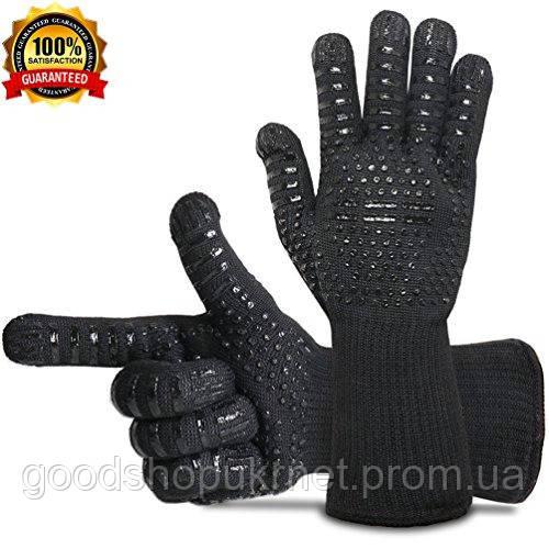 Термостойкие  силиконовые перчатки BBQ Gloves