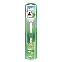 Щетка зубная TropiClean Dog Toothbrush Triple Flex