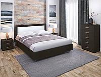 Кровать двухспальная Валерия усиленный каркас, фото 1
