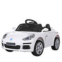 Детский электромобиль Porsche M 3446EBLR-1 белый Гарантия качества Быстрая доставка