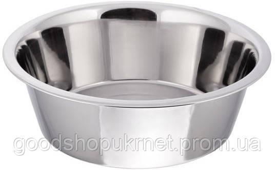 Миска нержавеющая круглая с плоским дном V 2500 мл Ø 250 мм