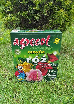 Удобрение agrecol для роз расфасовка  1,2 кг