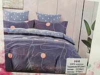 Стильный постельный комплект 200*230 (Євро) 5Д, фото 1
