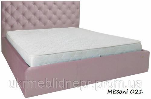 "Кровать ""Ковентри"" (Missoni 021)"