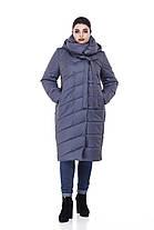 Размеры от 42 до 56 Зимнее Пальто с капюшоном для сильных морозов высокое качество!, фото 2