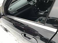 Молдинг стекла передний левый Mercedes e-class w212