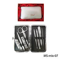 Педикюрный набор в подарочной упаковке MS-mix-07#S/V