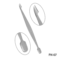 Пушер для кутикулы PN-07 двухсторонний, #S/V
