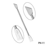 Пушер для кутикулы PN-11 двухсторонний, #S/V