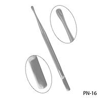 Пушер для кутикулы PN-16 двухсторонний, #S/V