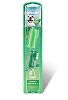 Набор зубных щеток TropiClean Fresh Breath Finger Brushes