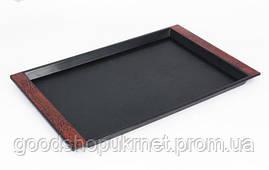 Поднос пластиковый прямоугольный 385*240*20 мм (шт)