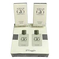 Подарочный набор парфюмерии для мужчин Giorgio Armani Acqua di Gio 2 х 30 ml 14109