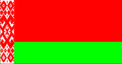 Флаг Белоруссии 0,9х1,8 м. шелк