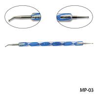 Дотс MP-03 двухсторонний с изогнутым наконечником#S/V