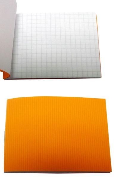 Блокнот А7 24л # ВА7524-П01 пл.обл. оранж.