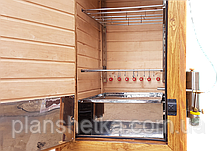 Електростатична коптильня КоптиСам 250 ДПЕ + холодне і гаряче, конвекція, сушіння, фото 2