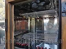 Электростатическая Коптильня 250 л холодного и горячего копчения + просушка (нержавейка внутри, крыша домиком, фото 3