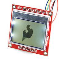 Дисплей графический 84*48 Nokia 5110 LCD Arduino Графический LCD дисплей 84x48 Nokia 5110 для Arduino и не тол