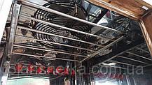 Коптильня 550 л холодного та гарячого копчення + просушування (нержавійка всередині, дах плоский), фото 2