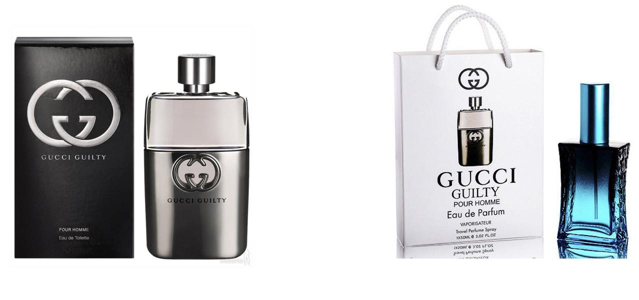 Gucci Guilty Pour Homme 100 Ml подарочный набор Gucci Guilty Pour