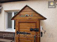 Электростатическая Коптильня 550л холодного и горячего копчения + просушка (Нержавейка внутри, крыша домиком), фото 2