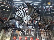 Електростатична Коптильня 550л холодного та гарячого копчення + просушування (Нержавійка всередині, дах будиночком), фото 3
