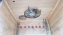 Коптильня 1300л холодного и горячего копчения + просушка (Ольха внутри, крыша плоская), фото 2