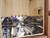 Коптильня 1300 л холодного та гарячого копчення + просушування (Вільха всередині, дах будиночком), фото 5